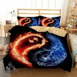 Home Decor Print Bedroom Beddings Yin and Yang Tai Chi Theme Bedding Set Cover Quilt Cover EXR6330 , Comforter Set