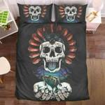 Skull 0925-24 Bedding Set Cover EXR7413 , Comforter Set