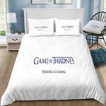 Game Of Thrones Logo #69 3D Personalized Customized Bedding Sets Duvet Cover Bedroom Sets Bedset Bedlinen , Comforter Set