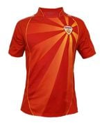 North Macedonia National Team 2021 Home Jersey / Custom Name & Number , Football Jersey , Football Jersey