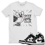 Air Jordan 1 Black White Sneaker Shirts And Sneaker Matching