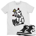 Air Jordan 1 Silver Toe Sneaker Shirts And Sneaker Matching
