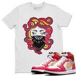 Air Jordan 1 Light Fusion Red Sneaker Shirts And Sneaker