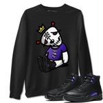 Air Jordan 12 Dark Concord Sneaker Shirts And Sneaker Matching