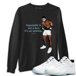 Air Jordan 11 Legend Blue Sneaker Shirts And Sneaker Matching