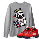Air Jordan 5 Raging Bull Sneaker Shirts And Sneaker Matching