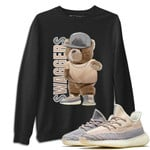Yeezy 350 V2 Ash Pearl Sneaker Shirts And Sneaker Matching