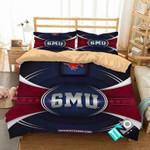 NCAA SMU Mustangs 2 Logo N 3D Personalized Customized Bedding Sets Duvet Cover Bedroom Set Bedset Bedlinen