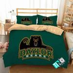 NCAA Baylor Bears 1 Logo N 3D Personalized Customized Bedding Sets Duvet Cover Bedroom Set Bedset Bedlinen