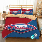 MLB Philadelphia Phillies 2 Logo 3D Personalized Customized Bedding Sets Duvet Cover Bedroom Set Bedset Bedlinen