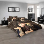 Famous Person Christina Perri v 3D Customized Personalized Bedding Sets Bedding Sets