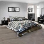 Super Car Porsche Carrera GT n 3D Customized Personalized  Bedding Sets