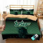 NCAA South Florida Bulls 5 Logo N 3D Personalized Customized Bedding Sets Duvet Cover Bedroom Set Bedset Bedlinen