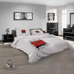 Musical Artists '80s Rush 1N 3D Customized Personalized  Bedding Sets
