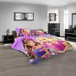 Movie Barbie in Princess Power V 3D Customized Personalized  Bedding Sets