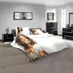 Musical Artists '80s Whitney Houston 1N 3D Customized Personalized  Bedding Sets