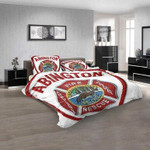 Firefighter Abington Fire Company 3D Customized Personalized Bedding Sets Bedding Sets