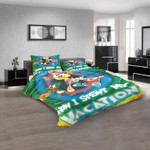 Cartoon Movies Tiny Toon Adventures V 3D Customized Personalized  Bedding Sets