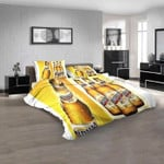 Beer Brand Medalla Light 1N 3D Customized Personalized  Bedding Sets