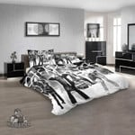 Musical Artists '80s Cheap Trick 1V 3D Customized Personalized  Bedding Sets