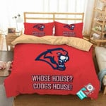 NCAA Houston Cougars 2 Logo N 3D Personalized Customized Bedding Sets Duvet Cover Bedroom Set Bedset Bedlinen