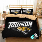 NCAA Towson Tigers 1 Logo N 3D Personalized Customized Bedding Sets Duvet Cover Bedroom Set Bedset Bedlinen