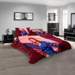 Musical Artists '80s Pat Benatar 2N 3D Customized Personalized  Bedding Sets