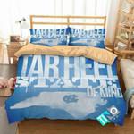 NCAA North Carolina Tar Heels 1 Logo V 3D Personalized Customized Bedding Sets Duvet Cover Bedroom Set Bedset Bedlinen