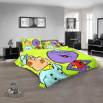 Cartoon Movies Squiddly Diddly N 3D Customized Personalized Bedding Sets Bedding Sets