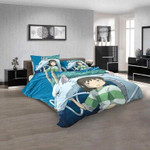 Anime Spirited Away v 3D Customized Personalized Bedding Sets Bedding Sets