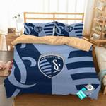 MLS Sporting Kansas City 1 Logo 3D Personalized Customized Bedding Sets Duvet Cover Bedroom Set Bedset Bedlinen