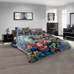 Cartoon Movies Justice Leaguef America N 3D Customized Personalized Bedding Sets Bedding Sets