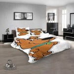 Cartoon Movies The Scooby Scrappy Doo Puppy D 3D Customized Personalized  Bedding Sets