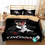 NCAA Cincinnati Bearcats 2 Logo D 3D Personalized Customized Bedding Sets Duvet Cover Bedroom Set Bedset Bedlinen