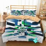 MLS Seattle Sounders FC 2 Logo 3D Personalized Customized Bedding Sets Duvet Cover Bedroom Set Bedset Bedlinen