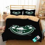 NCAA Portland State Vikings 3 Logo N 3D Personalized Customized Bedding Sets Duvet Cover Bedroom Set Bedset Bedlinen