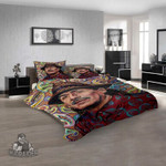 Musical Artists '80s Carlos Santana 3D 3D Customized Personalized  Bedding Sets