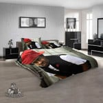Famous Rapper Wale v 3D Customized Personalized  Bedding Sets
