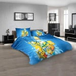 Cartoon Movies the simpsons N 3D Customized Personalized  Bedding Sets
