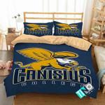 NCAA Canisius Golden Griffins 1 Logo D 3D Personalized Customized Bedding Sets Duvet Cover Bedroom Set Bedset Bedlinen