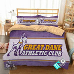 NCAA Albany Great Danes 2 Logo N 3D Personalized Customized Bedding Sets Duvet Cover Bedroom Set Bedset Bedlinen