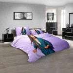 Famous Rapper Eve n 3D Customized Personalized  Bedding Sets