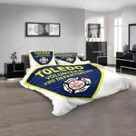 Firefighter 250 Volunteer Fire Department 3D Customized Personalized  Bedding Sets