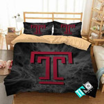NCAA Temple Owls 2 Logo V 3D Personalized Customized Bedding Sets Duvet Cover Bedroom Set Bedset Bedlinen