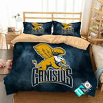 NCAA Canisius Golden Griffins 1 Logo N 3D Personalized Customized Bedding Sets Duvet Cover Bedroom Set Bedset Bedlinen