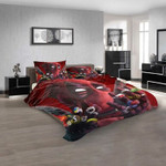 Anime Deadpool v 3D Customized Personalized Bedding Sets Bedding Sets