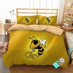 NCAA Georgia Tech Yellow Jackets 1 Logo N 3D Personalized Customized Bedding Sets Duvet Cover Bedroom Set Bedset Bedlinen