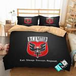 MLS D C United 2 Logo 3D Personalized Customized Bedding Sets Duvet Cover Bedroom Set Bedset Bedlinen
