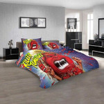 Cartoon Movies Attackf the Killer Tomatoes N 3D Customized Personalized Bedding Sets Bedding Sets