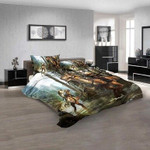 Cartoon Movies Dino-Riders N 3D Customized Personalized  Bedding Sets